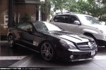 BENZ   Exotic Spotting in Melbourne: Mercedes Benz SL65 AMG - front right 1 (Crown, Vic, 24 Mar 09)