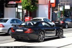 Mercedes   Exotic Spotting in Melbourne: Mercedes Benz SL65 AMG Black Series - rear right 1 (Toorak, Vic, 5 Dec 09)
