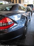 Black   Exotic Spotting in Melbourne: Mercedes Benz SL65 AMG Black Series - rear right close (Crown, Victoria, 2 Sept 09)