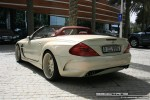BENZ   Exotics in Dubai: Mercedes Benz SL Class [Fab Design] - rear left