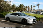 Exotic Spotting in Melbourne: Nissan GTR - front right (St Kilda, Vic, 11 Oct 09)