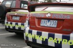 Old   Exotic Spotting in Melbourne: Police Holden SS Commodore [VZ] - rear right close (South Yarra, Vic, 15 March 08)