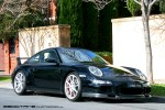 Right   Exotic Spotting in Melbourne: Porsche 911 997 GT3 - front right (Toorak, 17 Oct 2010)