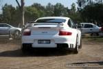 Porsche   Melbourne Ferrari Concours 20 April 2008: Porsche 911 GT2 [997] - rear (Como Oval North, Toorak, Vic 20 April 08)