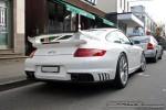 Porsche gt2 Australia Exotic Spotting in Melbourne: Porsche 911 GT2 [997] - rear right 1 (Prahran, Vic)