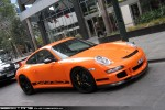 911   Exotic Spotting in Melbourne: Porsche 911 GT3RS [997] - front right (Southbank, Victoria, 21 July 09)