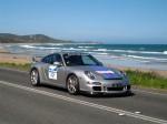 As   Porsche Great Ocean Road Escape (8 - 11 Nov 2007): Porsche 911 GT3 [997] [BX-677]- front right (Gt Ocean Rd, Eastern View, Vic, 8 Nov 07)
