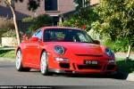 98octane Photos Exotic Spotting in Melbourne: Porsche 911 GT3 [997] - front right 2 (Glen Waverley, Vic, 24 Oct 09)