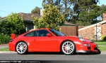 Right   Exotic Spotting in Melbourne: Porsche 911 GT3 [997] - front right 6 (Glen Waverley, Vic, 24 Oct 09)