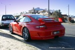 Left   Exotic Spotting in Melbourne: Porsche 911 GT3 [997] - rear left (Middle Park, Victoria, 21 Mar 09)
