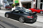 Porsche   Exotic Spotting in Melbourne: Porsche 911 GT3 [997] - rear left (Toorak, Vic, 28 Sept 08)