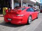 Porsche   Porsche Great Ocean Road Escape (8 - 11 Nov 2007): Porsche 911 GT3 [997] - rear right 1 (Lorne, Vic, 10 Nov 07)