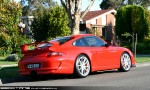98octane Photos Exotic Spotting in Melbourne: Porsche 911 GT3 [997] - rear right 2 (Glen Waverley, Vic, 24 Oct 09)