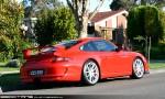 Porsche gt3 Australia Exotic Spotting in Melbourne: Porsche 911 GT3 [997] - rear right 2 (Glen Waverley, Vic, 24 Oct 09)