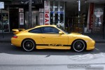 Porsche   Exotic Spotting in Melbourne: Porsche 911 GT3 Mk I [996] - profile right (Prahran, Vic, 28 Sept 08)