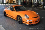 911   Exotic Spotting in Melbourne: Porsche 911 GT3 RS [997] - front right 2 (Crown Casino, Victoria, 26 Mar 09)