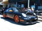 Porsche   Exotics on Victoria's Surf Coast: Porsche 911 GT3 RS [997] - front right 2 (Lorne, Vic, 10 Nov 07)