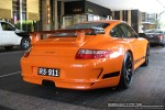 911   Exotic Spotting in Melbourne: Porsche 911 GT3 RS [997] - rear right (Crown Casino, Victoria, 26 Mar 09)
