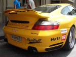 Exotic Spotting in Europe: Porsche 911 Gemballa GT500 Biturbo Type 996 - rear - Dustball 4000 Rally (Piazza Republica, Florence, Italy, 17-Jun-06)
