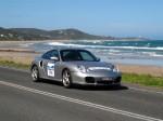550   Porsche Great Ocean Road Escape (8 - 11 Nov 2007): Porsche 911 Turbo [996] [RJC-550]- front right (Gt Ocean Rd, Eastern View, Vic, 8 Nov 07)