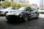 Turbo   Exotic Spotting in Melbourne: Porsche 911 Turbo [996] - front left 2 (Crown Casino, Vic, 30 March 08)
