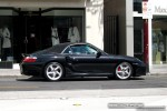 911   Exotic Spotting in Melbourne: Porsche 911 Turbo [996] - profile right (Toorak, Vic, 18 Oct 08)