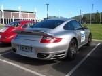 Turbo   Porsche Great Ocean Road Escape (8 - 11 Nov 2007): Porsche 911 Turbo [997] [MY997T]- rear right (Lorne, Vic, 8 Nov 07)