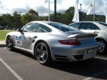 Turbo   Porsche Great Ocean Road Escape (8 - 11 Nov 2007): Porsche 911 Turbo [997] [TTURBO]- rear left 2 (Lorne, Vic, 8 Nov 07)
