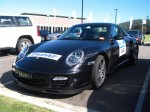 Left   Porsche Great Ocean Road Escape (8 - 11 Nov 2007): Porsche 911 Turbo [997] [TURBO1]- front left (Lorne, Vic, 8 Nov 07)