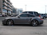 Porsche   Exotics in Dubai: Porsche 911 Turbo [997] - B profile left
