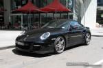 Exotic Spotting in Melbourne: Porsche 911 Turbo [997] - front left (Southbank, Vic, 14 Nov 08)