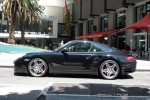 Left   Exotic Spotting in Melbourne: Porsche 911 Turbo [997] - profile left (Southbank, Vic, 14 Nov 08)