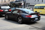 Turbo   Exotic Spotting in Melbourne: Porsche 911 Turbo [997] - rear left (South Yarra, Vic, 28 Sept 08)