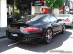 Exotic Spotting in Melbourne: Porsche 911 Turbo [997] - rear right (Toorak, Vic, 15 March 08)