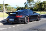 Turbo   Exotics on Victoria's Surf Coast: Porsche 911 Turbo [997] - rear right 1 (Lorne, Vic, 24 Jan 08)