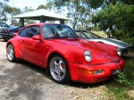 Right   Exotics on Victoria's Surf Coast: Porsche 911 Turbo 3 6 - front right (Lorne, Vic, 10 Nov 07)