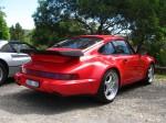 Porsche   Exotics on Victoria's Surf Coast: Porsche 911 Turbo 3 6 - rear right (Lorne, Vic, 10 Nov 07)