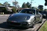 Porsche   Exotic Spotting in Melbourne: Porsche 911 Turbo 997 2 - front left 2 (Hawthorn, Vic, 8 May 2010)