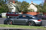 Exotic Spotting in Melbourne: Porsche 911 Turbo 997 2 - profile left(Hawthorn, Vic, 8 May 2010)