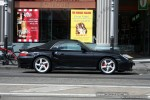 Cabriolet   Exotic Spotting in Melbourne: Porsche 911 Turbo Cabriolet [996] - profile right (Prahran, Vic, 28 Sept 08)