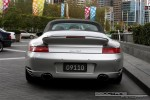 CAB   Exotic Spotting in Melbourne: Porsche 911 Turbo Cabriolet [996] - rear (Crown Casino, Vic, 30 March 08)