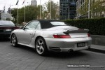 Cab   Exotic Spotting in Melbourne: Porsche 911 Turbo Cabriolet [996] - rear left 2 (Crown Casino, Vic, 30 March 08)