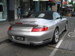 Street   Exotic Spotting in Melbourne: Porsche 911 Turbo Cabriolet [996]