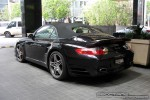 Cab   Exotic Spotting in Melbourne: Porsche 911 Turbo Cabriolet [997] - rear left (Crown Casina, Vic, 28 Oct 08)