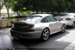 Porsche   Exotic Spotting in Melbourne: Porsche 911 Turbo S [993] - rear right (Crown, Vic, 20 Oct 09)
