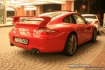 Porsche   Exotics in Dubai: Porsche 911 with GT3 kit [997] - rear right