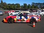 And   Dutton Rally 2007 - Sandown, Victoria: Porsche 996 GT2 - profile left (Dutton Rally 07, Sandown, Vic, 2 Sept 07)