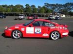 Rally   Dutton Rally 2007 - Sandown, Victoria: Porsche 996 Turbo - profile left (Dutton Rally 07, Sandown, Vic, 2 Sept 07)