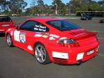 Left   Dutton Rally 2007 - Sandown, Victoria: Porsche 996 Turbo - rear left 2 (Dutton Rally 07, Sandown, Vic, 2 Sept 07)