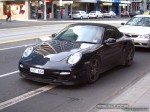 Cab   Exotic Spotting in Melbourne: Porsche 997 Turbo Cabriolet - front left (Melbourne, Vic, 7 Aug 08)